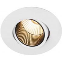 LED-alasvalo Hide-a-lite Optic Focus, 2700K, valkoinen