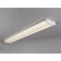 LED-teollisuusvalaisin Hide-a-lite Liteline Basic 1200, 3000K, IP44, valkoinen