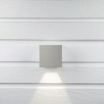 LED-seinävalaisin Hide-a-lite Cube I harmaa 3000K, Verkkokaupan poistotuote