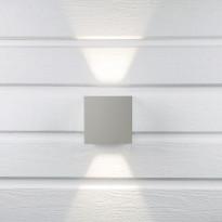LED-seinävalaisin Hide-a-lite Cube II harmaa 3000K, Verkkokaupan poistotuote