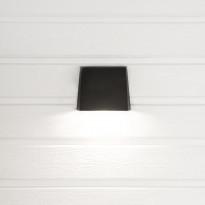 LED-seinävalaisin Hide-a-lite Edge antrasiitti 3000K, Verkkokaupan poistotuote