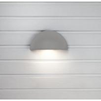 LED-seinävalaisin Hide-a-lite Arc Pistorasia harmaa