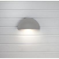 LED-ulkoseinävalaisin Hide-a-lite Arc Safe, 3000K, harmaa