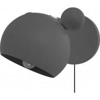 Seinävalaisin Heat Mouse, harmaa
