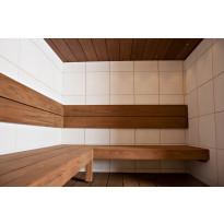 Saunapaneeli Taika Ruutu, puuvalmis ympäripontattu, 12x360x360mm