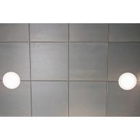 Saunapaneeli Taika Ruutu, harmaa ympäripontattu, 12x360x360mm