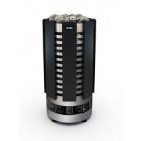 Sähkökiuas Helo Robust black 60 STJ BWT, 6,0 kW (5-9 m³) musta