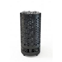 Sähkökiuas Helo Ringo black 80 STJ WT, 8kW, 8-12m³, manuaalitäyttö, kiinteä ohjaus