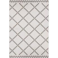 Kääntömatto Hestia Sumu, 80x250cm, ruskea/valkoinen