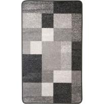Käytävämatto Hestia Quadro, 80x350cm, harmaa