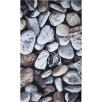 Kynnysmatto Hestia Stones, 45x75cm, harmaa