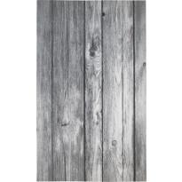 Kynnysmatto Hestia Wood, 45x75cm, harmaa