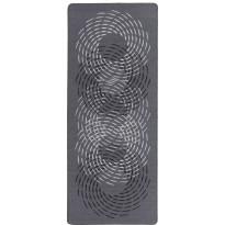 Käytävämatto Hestia Pyörre, 80x200cm, musta