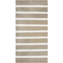 Käytävämatto Hestia Pinja, 80x300 cm beige/valkoinen
