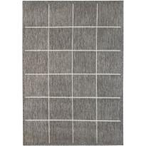 Kynnysmatto Hestia Oodi, 50x80cm, harmaa/valkoinen