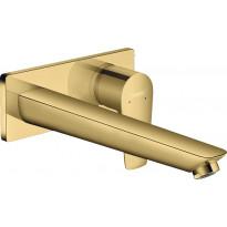 Pesuallashana Hansgrohe Talis E, piiloasennus, kiillotettu kulta, Verkkokaupan poistotuote