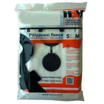 Pölypussi H&H 5kpl fleece 51817262