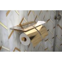 Tupla-WC-paperiteline Hietakari Tresor, messinki