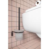 WC-harja ja teline Hietakari Fil, musta