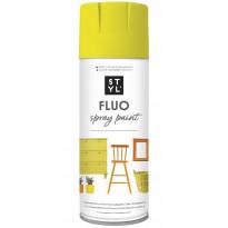 Fluoresoiva lakkaspray Rust-Oleum STYL, 400ml, keltainen