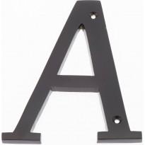 Talokirjain Hovila, A, 125mm, musta