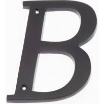 Talokirjain Hovila, B, 125mm, musta