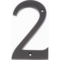 Talonumero Hovila, 2, 125mm, musta
