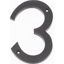 Talonumero Hovila, 3, 125mm, musta