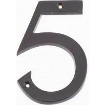 Talonumero Hovila, 5, 125mm, musta