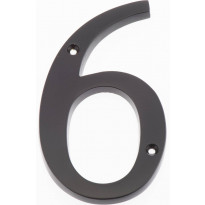 Talonumero Hovila, 6, 125mm, musta