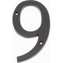 Talonumero Hovila, 9, 125mm, musta