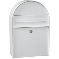 Postilaatikko Me-Fa, 400 Amber, valkoinen