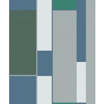 Tapetti HookedOnWalls Opulent, turkoosi, 0,53x10,05m