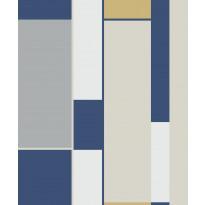 Tapetti HookedOnWalls Opulent, sininen, 0,53x10,05m