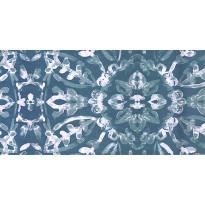Tapetti HookedOnWalls Zest, petrooli, kiiltävä, 0,53x10,05m