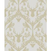 Tapetti HookedOnWalls Fauna, beigekulta, 0,53x10,05m