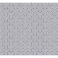 Tapetti HookedOnWalls Ypsilon, siniliila, 0,70x10,05m