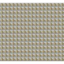 Tapetti HookedOnWalls Lattice, harmaakulta, 0,70x10,05m