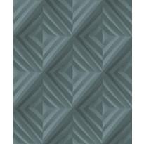 Tapetti HookedOnWalls Fold, sinivihreä, 0,52x10,05m
