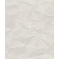 Tapetti HookedOnWalls Crinkle, valkoinen, 0,52x10,05m