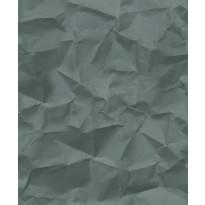 Tapetti HookedOnWalls Crinkle, vihreä, 0,52x10,05m