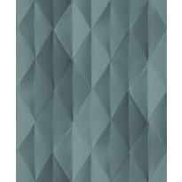 Tapetti HookedOnWalls Pieces, sinivihreä, 0,52x10,05m