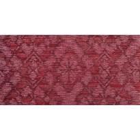 Tapetti HookedOnWalls Etched Flower, punainen, 0,53x10,05m
