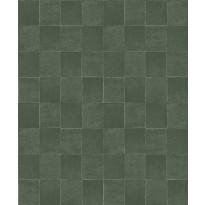 Tapetti HookedOnWalls Tile, vihreä, 0,53x10,05m