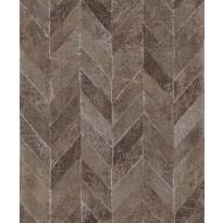 Tapetti HookedOnWalls Carve, terra, 0,53x10,05m