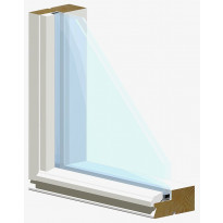 Autotallin ikkuna 2K-92 leveys 119cm x korkeus 59cm