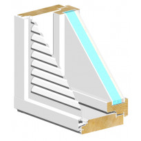 Tuuletusluukku HR-Ikkunat, TLU-MSEAL 3x9