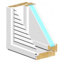 Tuuletusluukku HR-Ikkunat, TLU-MSEAL 3x9, Verkkokaupan poistotuote