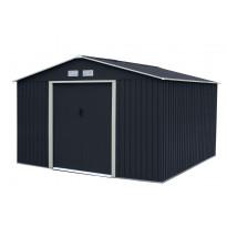 Puutarhavaja Horisont 10,92m², tumma harmaa