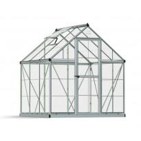 Kasvihuone Palram-Canopia Harmony, 3,4m², 6x6, hopea